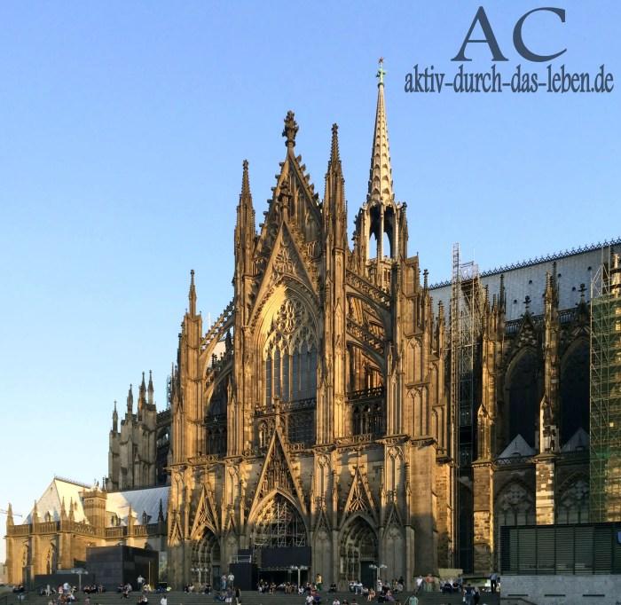 UNESCO-Weltkulturerbe Kölner Dom. Eine der weltweit größten Kathedrale im gotischen Baustil.