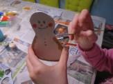 Weihnachtliche Laubsägearbeiten