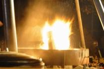 Feuerstellen bereichern die Waldweihnacht