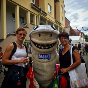 Sharky vom Sea Life Speyer