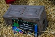 Die Kinder-Weihnachts-Wunschbox gab es auch wieder.