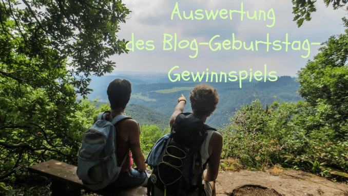 Auswertung des Gewinnspiels zum Blog-Geburtstag