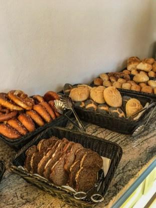 Die Brot- und Brötchenauswahl. Da ist für jeden etwas dabei.