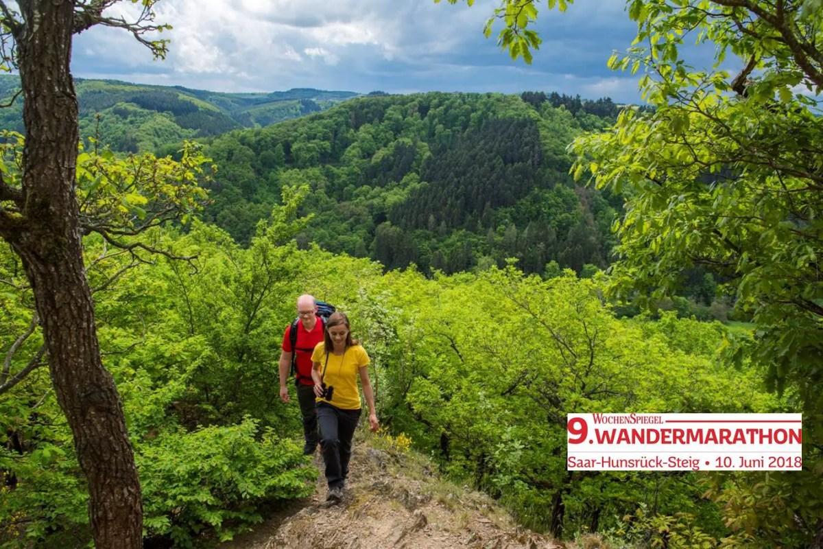 Vorbericht: 9. Saar-Hunsrück-Steig Wandermarathon am 10.06.2018