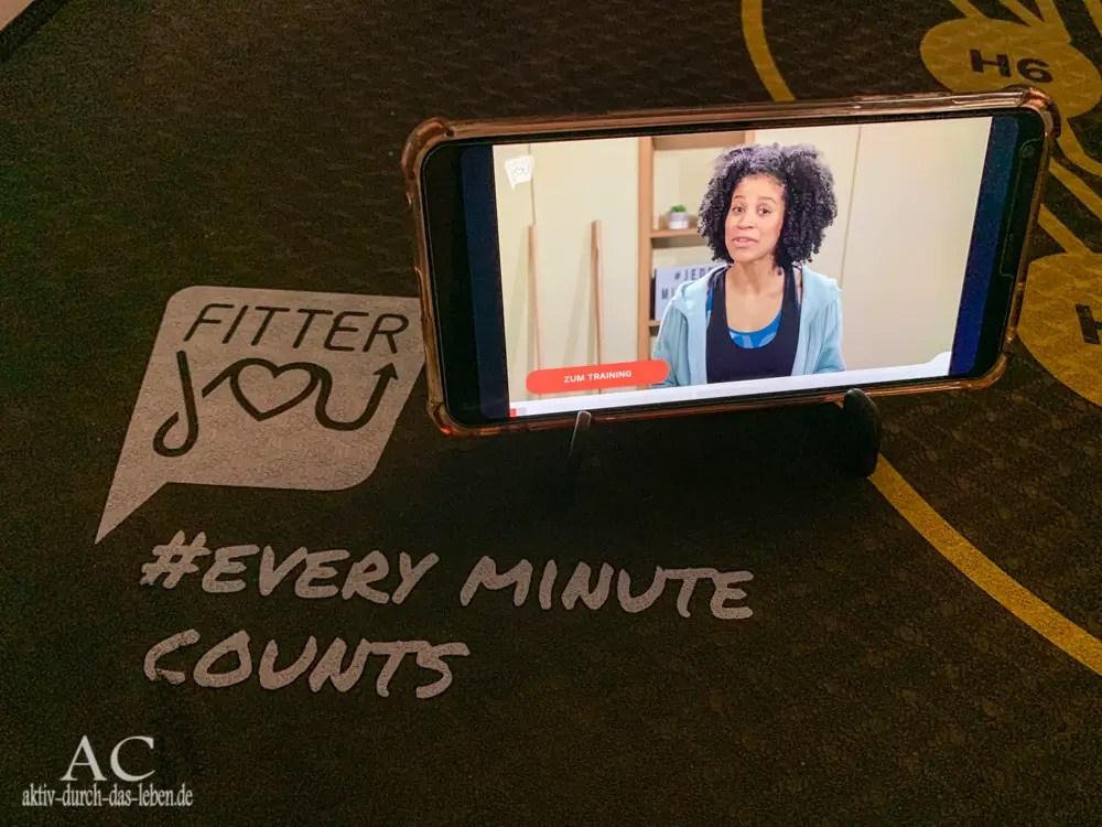 Unser Fitness-Tipp: fitterYOU<sup>®</sup>, die Fitness-App – mit Gewinnspiel