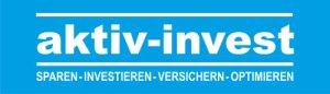 Logo aktiv-invest | sparen - investieren - versichern - optimieren