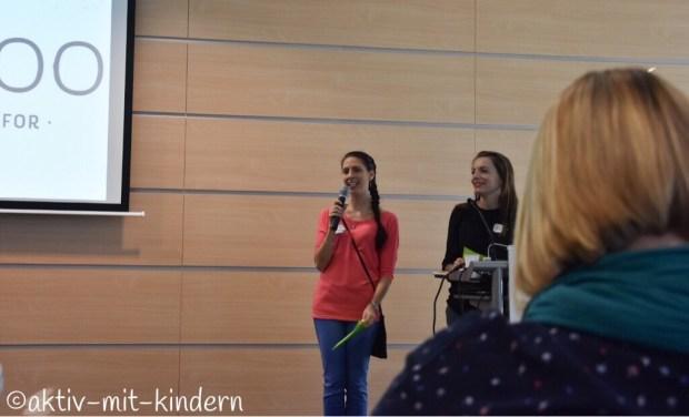 Mafines Mannheim Elternbloggerkonferenz Familycon Sabrina von babykeks und Frida von 2kindchaos