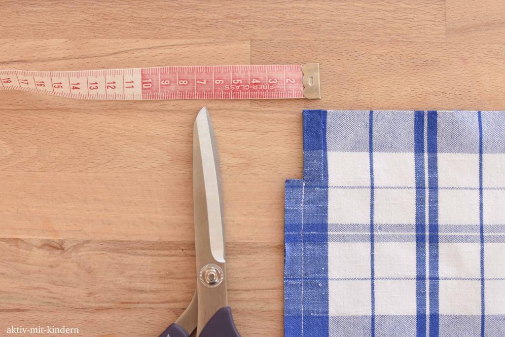 DIY Tutorial ein Baumwollsäckchen nähen