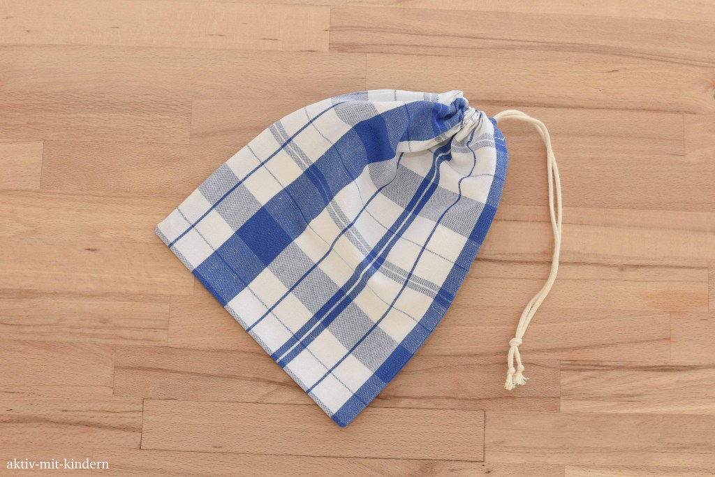 Baumwollsäckchen selbstgenäht