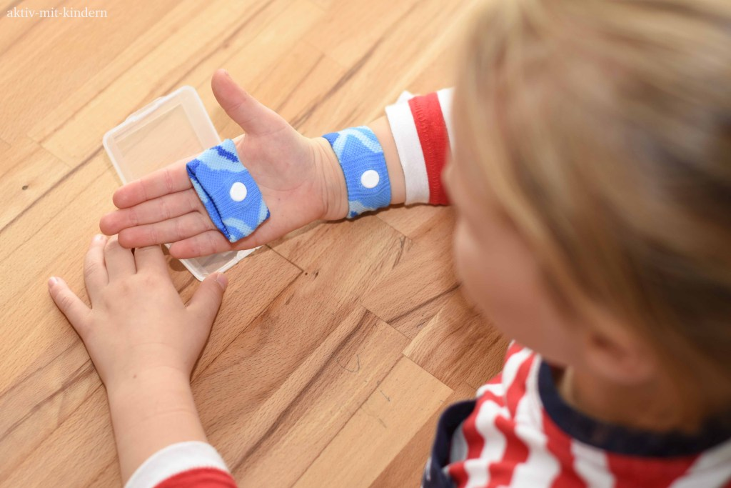 SEA-BAND Akupressurbänder gegen Reiseübelkeit bei Kindern