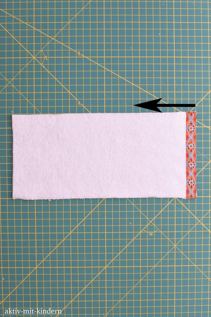 Anleitung um ein Seifensäckchen zu nähen