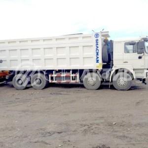 Купитьсамосвал Shacman Shaanxi, в Иркутске! 8x4, 35 кубов (белый)