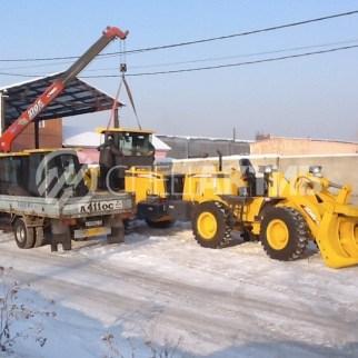 Быстрая доставка спецтехники по РФ из Иркутска