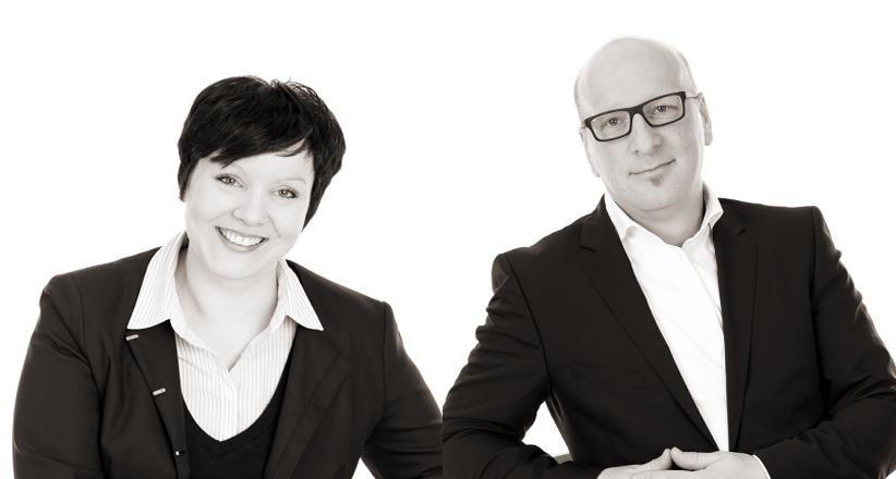 Denise und Stefan Discher von AKTIVA Immobilien im Breisgau GmbH - Portfolio: Immobilienbewertung, Immobilienvermittlung (Verkauf, Vermietung, Verrentung)