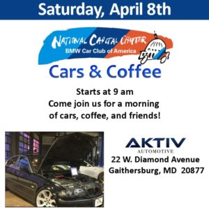Cars & Coffee, 8 April 2017, AKTIV Automotive