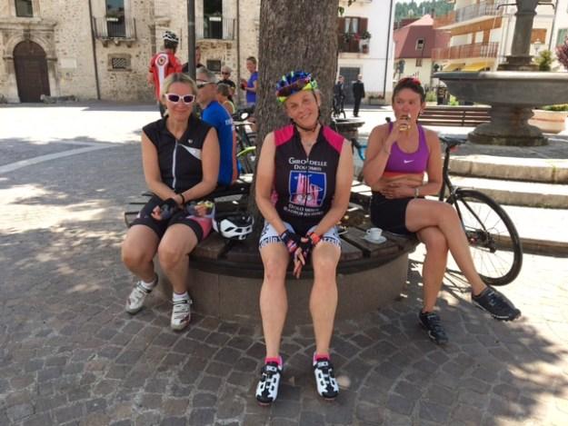 Sykkeltur i Abruzzo, Italia