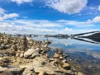 Lunsj på Hardangervidda.