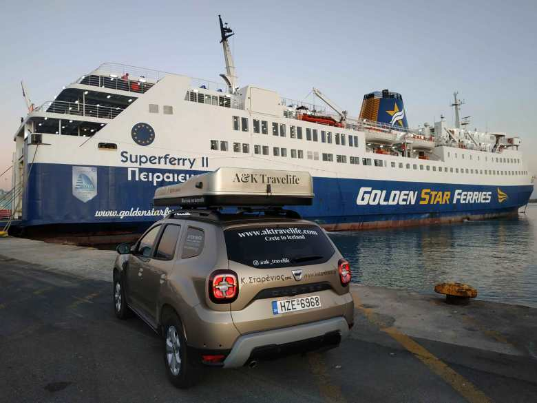 Στην Πάρο με Golden Star Ferries και Dacia Duster