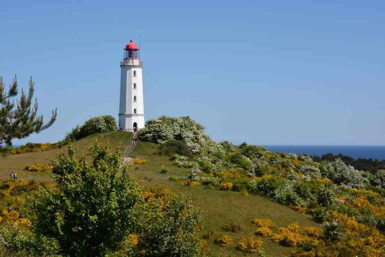 Lighthouse on Hiddensee, Baltic Sea