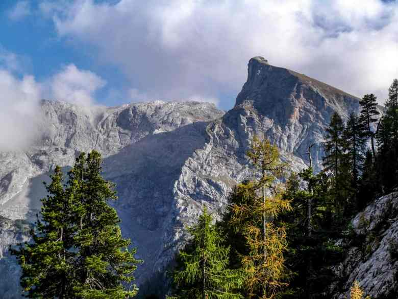 Mountain view in the area of Berchtesgaden