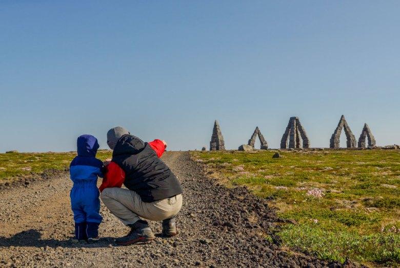 Arctic Henge, Raufarhofn