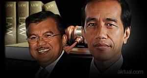 Dua tahun masa pemerintahan Joko Widodo–Jusuf Kalla - Perbaikan penegakan Hukum. (ilustrasi/aktual.com)