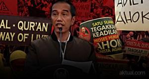 Presiden Joko Widodo - Aksi Bela Islam II. (ilustrasi/aktual.com)
