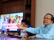 """Dalam agenda diskusi Ngobrol Denga Dr. Rizal Ramli dengan tema """"Indonesia Perlu Pemimpin Optimis yang Bawa Perubahan"""" yang di gelar di bilangan Tebet, Jakarta Selatan, Senin, 25/2/2019. AKTUAL/WARNOTO"""