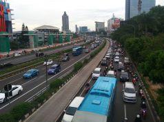 Situasi jalan MT Haryono Jakarta Timur