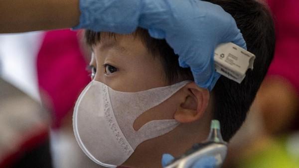 Penularan COVID-19 lebih cepat dari SARS di antar manusia. Foto ilustrasi: AP Photo