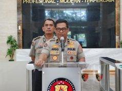 Kepala Biro Penerangan Masyarakat Polri Brigjen Pol Raden Prabowo Argo Yuwono (kanan). (ANTARA/ HO-Humas Polri)