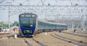 Kereta MRT Jakarta
