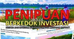 Penipuan Berkedok Investasi, Negara dan Investor Dirugikan Hingga Milyaran Rupiah??