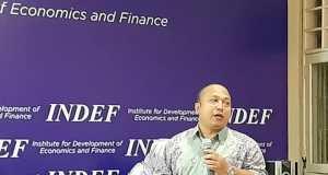 Direktur Eksekutif INDEF Tauhid Ahmad/Antaranews
