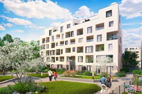 Projekt Byty u Parku na Žižkově