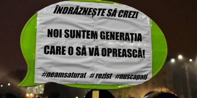 rezist protest