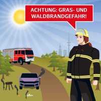 Senat warnt vor sehr hoher Waldbrandgefahr
