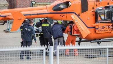 Photo of Verletzter Arbeiter mit Helikopter geborgen