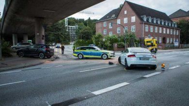 Photo of Schwerer Unfall vor dem Amtsgericht behinderte Verkehr