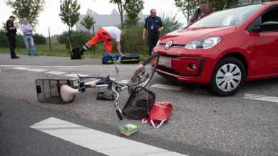 Photo of Radfahrerin beim Abbiegen übersehen