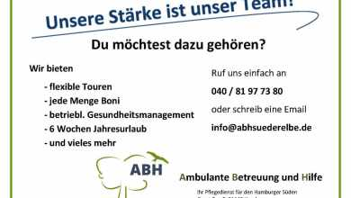 Photo of 30 Std. examinierte Alten-/Krankenpflegekraft m/w/d