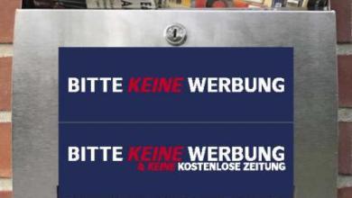Photo of Kampagne gegen ungewollte Werbung im Briefkasten