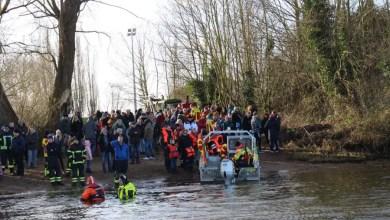 Photo of Feuerwehr Over-Bullenhausen lud zum Anbaden ein und übte die Menschenrettung aus der Elbe