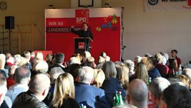 Photo of Kevin Kühnert beim Neujahrsempfang der SPD im Landkreis Harburg