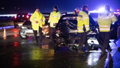 Photo of Glätteunfall auf der A7 sorgt für Vollsperrung