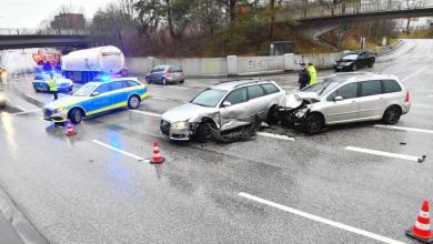 Photo of Zwei Verletzte nach Unfall am Bahnhof Neugraben