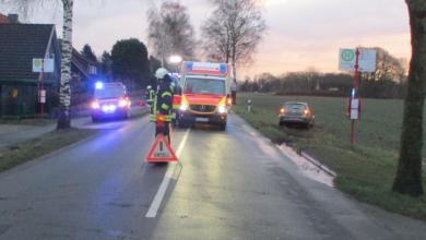 Photo of 15-jährige Schülerin bei Unfall in Deinste schwer verletzt