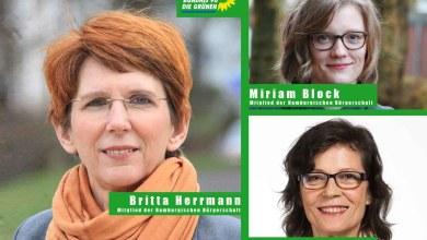 Photo of Drei Frauen aus dem Hamburger Süden vertreten jetzt Grüne Politik in der Bürgerschaft