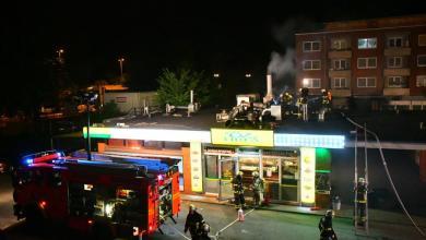 Photo of Abluftanlage eines Döner-Imbiss gerät in Brand