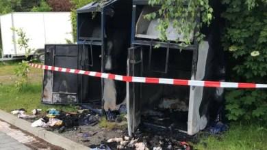 Photo of Brandstifter setzen Altkleidercontainer und Gartenmüllbox in Brand – Polizei sucht Zeugen